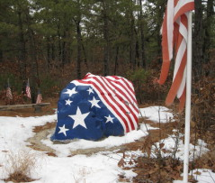 American Rock on Route 539 in Lacey Township, NJ.  Photo credit: Lacey Patch